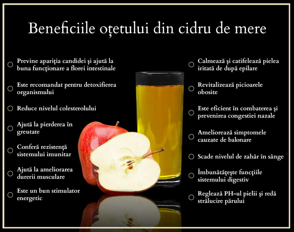 Beneficii cidru de mere